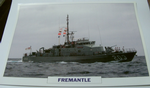 Fremantle 1979 patrol boat warship framed picture (19)